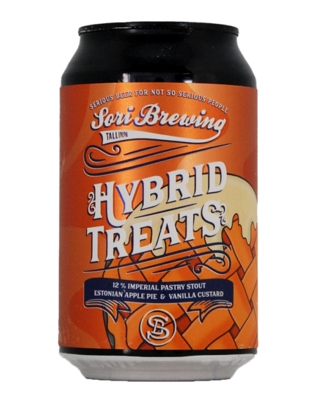 Sori Brewing Hybrid Treats Estonian Apple Pie Vanilla Custard