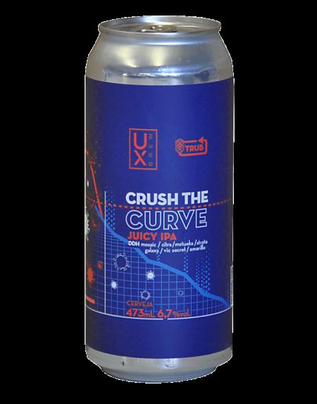 UX Brew Crush the Curve IPA