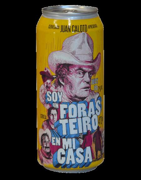Juan Caloto Soy in Foras Teiro IPA